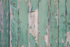 剥绿色油漆 库存照片