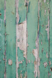 剥绿色油漆 库存图片
