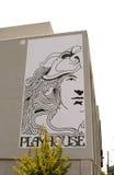 剧场的壁角标志方形的孟菲斯的 图库摄影