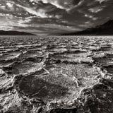 剧烈的死亡谷风景 免版税库存图片