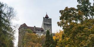 剧烈麸皮城堡-剧烈, 14世纪城堡,麸皮城堡的formerFragment的片段-, 14世纪城堡,前罗伊 库存照片