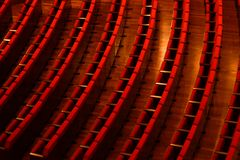 剧院位子 库存照片