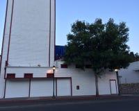 剧院侧视图 免版税库存图片