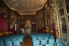 剧院在东方艺术博物馆在罗马意大利 免版税库存图片