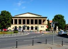 剧院在布拉索夫, Transilvania 免版税库存图片