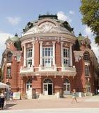 剧院在瓦尔纳,保加利亚 库存图片