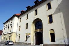 剧院在Levoca 免版税库存图片