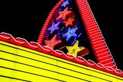 剧院大门罩 免版税库存图片