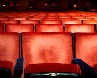 剧院就座 免版税库存照片