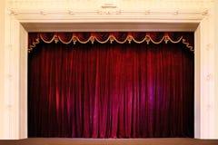 剧院阶段 免版税图库摄影