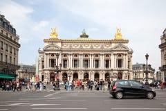 巴黎 剧院Palais Garnier 库存照片