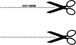 剪刀 向量例证