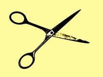 剪刀2 库存图片