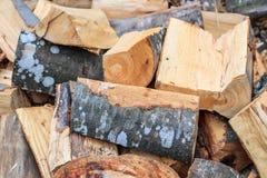 剪切木柴 库存图片