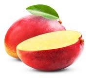 剪切果子果子芒果陈列被切的妇女 免版税库存图片