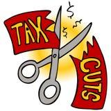 剪切税务 向量例证