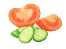 剪切蔬菜 库存照片