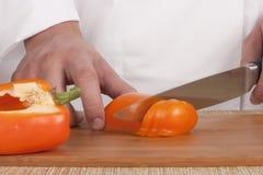 剪切蔬菜 免版税图库摄影