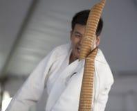 剪切katana 免版税库存图片