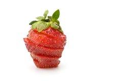 剪切strawberriy 免版税图库摄影