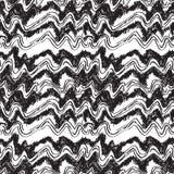 剪影挥动部族种族纹理无缝的样式 库存例证