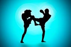 泰国拳击 免版税库存照片