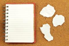 剪报便条纸路径影子粘性黄色 免版税库存图片
