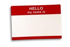 剪报命名路径标签 库存照片