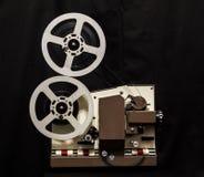 剪报影片包括的路径放映机葡萄酒 库存照片