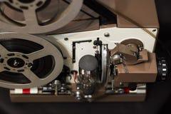 剪报影片包括的路径放映机葡萄酒 库存图片