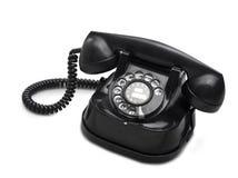 剪报拨号老路径电话 免版税库存图片