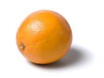 剪报果子查出的橙色路径 免版税库存照片