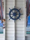 剪报查出在路径船轮子白色 库存图片