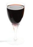 剪报玻璃包括的路径红葡萄酒 免版税库存图片