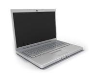 剪报计算机笔记本路径 免版税库存照片