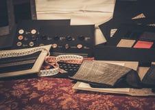 剪裁的布料样品 免版税库存照片