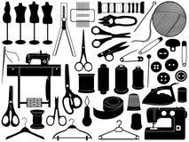 剪裁设备 库存例证