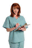 剪贴板藏品洗刷妇女 免版税库存图片