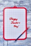 剪贴板和双重铅笔 免版税库存图片