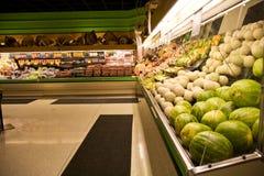 副食品商店超级市场 库存图片