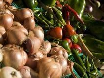副食品市场 免版税图库摄影