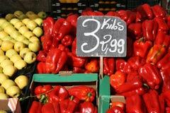 副食品市场 免版税库存图片