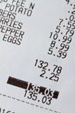 副食品收货 免版税库存图片