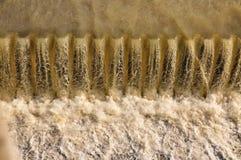 水力发电站的水坝 免版税库存图片