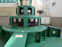 水力发电驻地 免版税库存照片