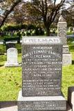 力大无比的公墓 地方在t的市哈利法克斯在加拿大 库存图片