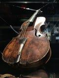 力大无比的小提琴 图库摄影