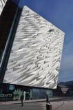 力大无比的经验博物馆在贝尔法斯特,北爱尔兰 图库摄影