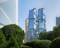 力宝中心,香港 免版税库存照片
