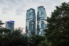 力宝中心,香港 免版税图库摄影